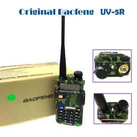 Walkie Talkie Baofeng UV-5R Green UHF VHF Dual Band Two Way Radio 1 pc