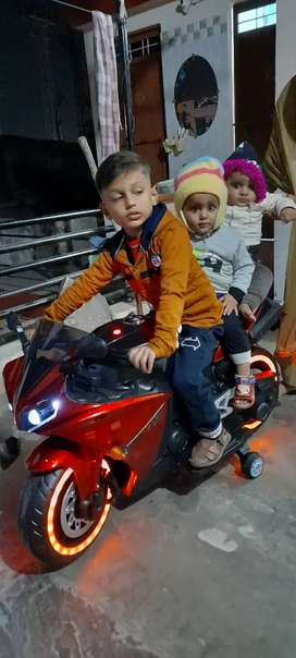 Battery bike for kids very good condition