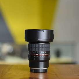 Lensa Samyang 8 mm f/3.5 CS II for Fuji