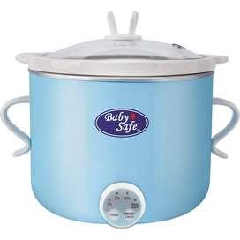 Baby Safe Slow Cooker Digital 0.8liter LB 007+ timer/MPASI BABY/ jogja