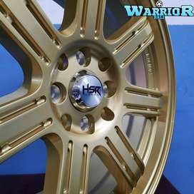 Velg Mobil Ring 17 HSR SIAK Pelek Racing Avanza Jazz Yaris Mobilio Dll