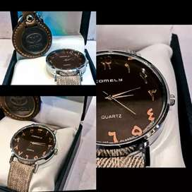 Wrist watch Gift Pack for your loved one and  Metal Key Chain