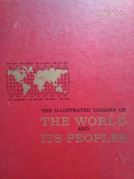THE ILLUSTRATED LIBRARY OF THE WORLD AND ITS PEOPLES -USA 1- GREYSTONE