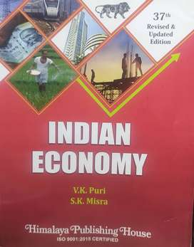 Indian economy by Mishra and puri