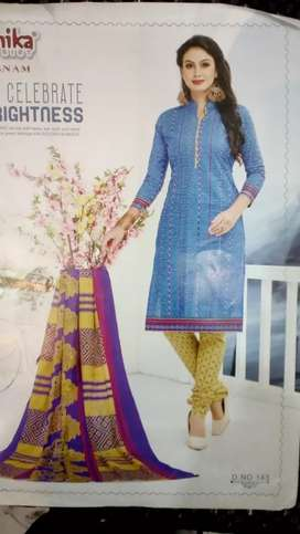 Dress material with dupatta