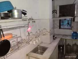 one room with  attached washroom and kitchen