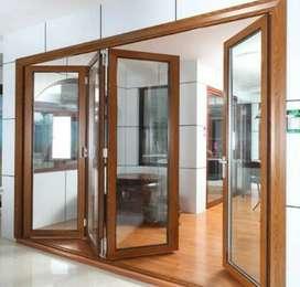Kusen kayu dan pintu