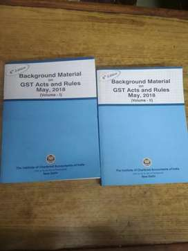 GST Acts and Rules May, 2018 ( Vol. 1+2 )