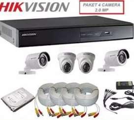 Cctv hikvision 4 ch