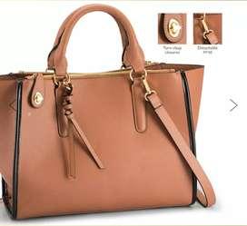 Branded hand bag
