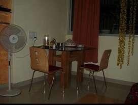 2 Bhk semi furnished flat on rent