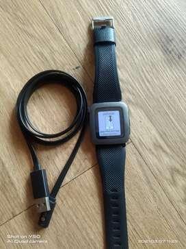 Jam tangan pebble +kabel cas saja