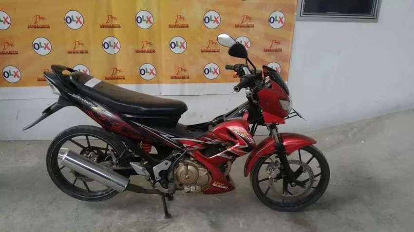 New Satria FU Tahun 2011 DK7038UI (Raharja Motor Mataram) 0