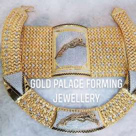 1 = Gram Gold Forming Royal Chain & Bracelet