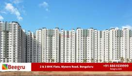 2 BHK & 3 BHK apartments FOR SALE  in Mysore Road, Bangalore