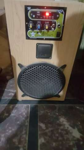 Speaker woofer loud sound Bluetooth aux