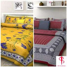 Cotton bedsheet combo