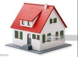 bungalow-duplex. free hold ONE BHK