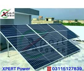 3.2kW solar system with 25 years Warranty of  A garde panels,