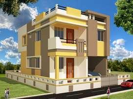 Duplex on 2 Cottah land
