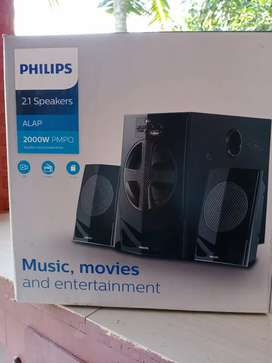Philips 2.1 speakers