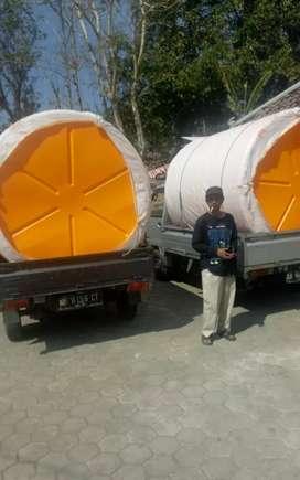 Tandon air 2000 liter bahan plastik HDPE Sukoharjo