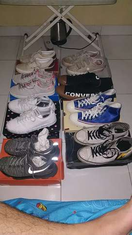 Jual sepatu vans converse nike adidas..