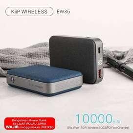 READY Kiip Wireless Powerbank 10.000 mAh-Fast Charging PD & QC 3.0 18W