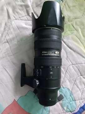 Nikon 70-200 2.8 official lens (2018)