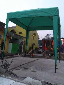 Tenda cafe ada ijo orange ready