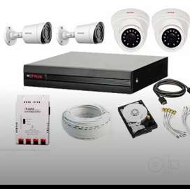 cp plus cctv 2.4mp camera set