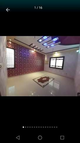 Independent with roof New beautiful 300yd 3bed/Dd Johar bl.14