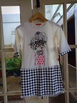 Dress anak merek Oneplus size 6thn