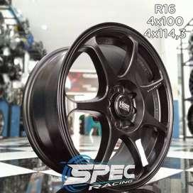 Bisa Kredit Pelek Mobil Honda Brio R16 HSR Di Toko Velg Mobil Medan