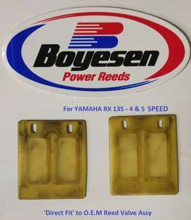 RX 135 4 SPEED & 5 SPEED - 'USED' BOYESEN POWER REEDS Direct Fit