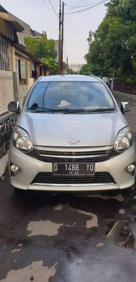 BU!! Toyota Agya G 2014 MT, DP 10jt