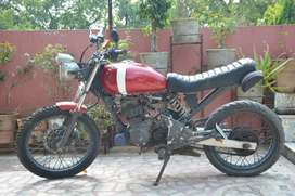 Modified honda unicorn 160cc