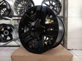 Velg Mobil Pajero Ring 17 HSR V-ROCK pcd 6x139,7 lebar9 et20 smb