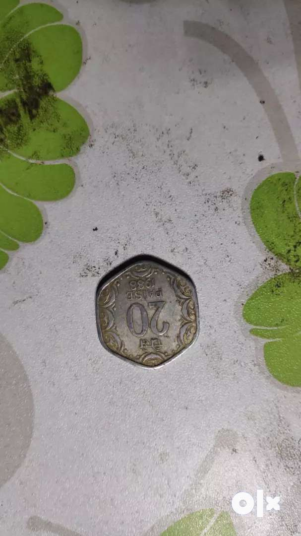 Old coin  of ancient India 0