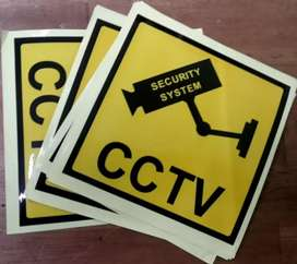 Sticker CCTV security system