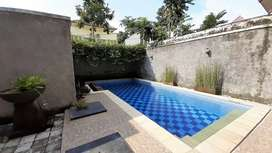 Villa Dijual Plus Ada Private Pool Full Perabot di Senggigi Lombok NTB