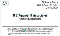 Article Assistant for CA Firm in Mayur Vihar 1