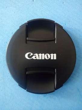 Tutup Lensa Depan Canon 67mm, 72mm, 77mm