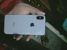 Iphone x with good condition