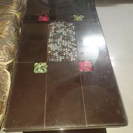 One dining table