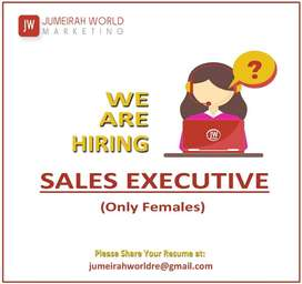 Sales Executive (Females Only)