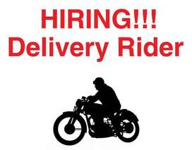 Required Food Delivery Rider
