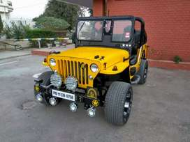 Open jeeps modified