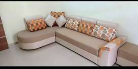 Brand new L shape 5 seater sofa set at very reasonable price