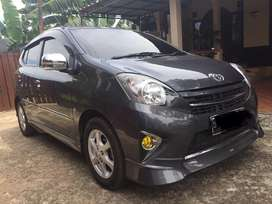 Toyota agya TRD 2014 manual pribadi pajak panjang